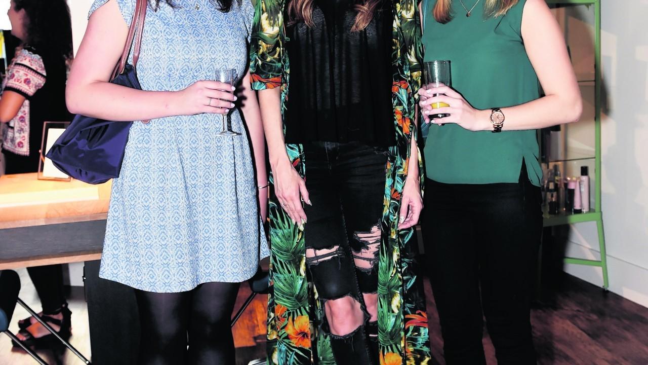 Kirstie Howard, Ashly Rae and Jemma Forrest