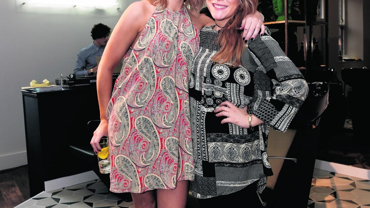 Joanna MacDonald and Jennifer Linton