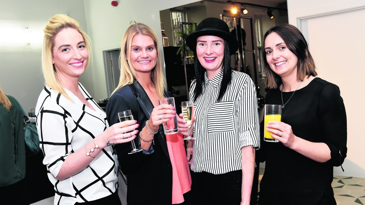 Cheryl Rogerson, Ashley Wilson, Lynne Bowie and Leanne Knowles