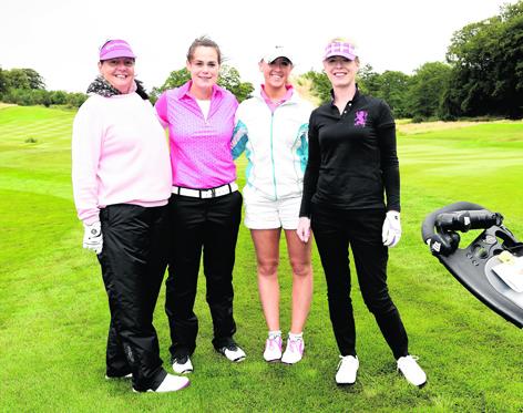Sharon Gray, Susan Ingram, Megan Clyne and Fiona Bannister