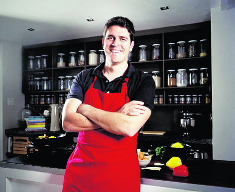 Jonno Proudfoot, whose book, The Real Meal Revolution, has taken South Africa by storm
