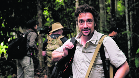 Richard Hammond in the Amazon rainforest filming his new show