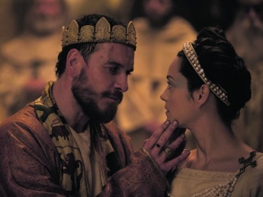 Michael Fassbender and Marion Cotillard in the unflinching Macbeth