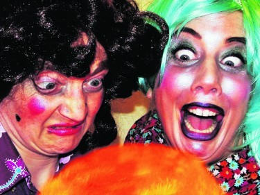 Look out for  the  awful aunts from James and the Giant Peach