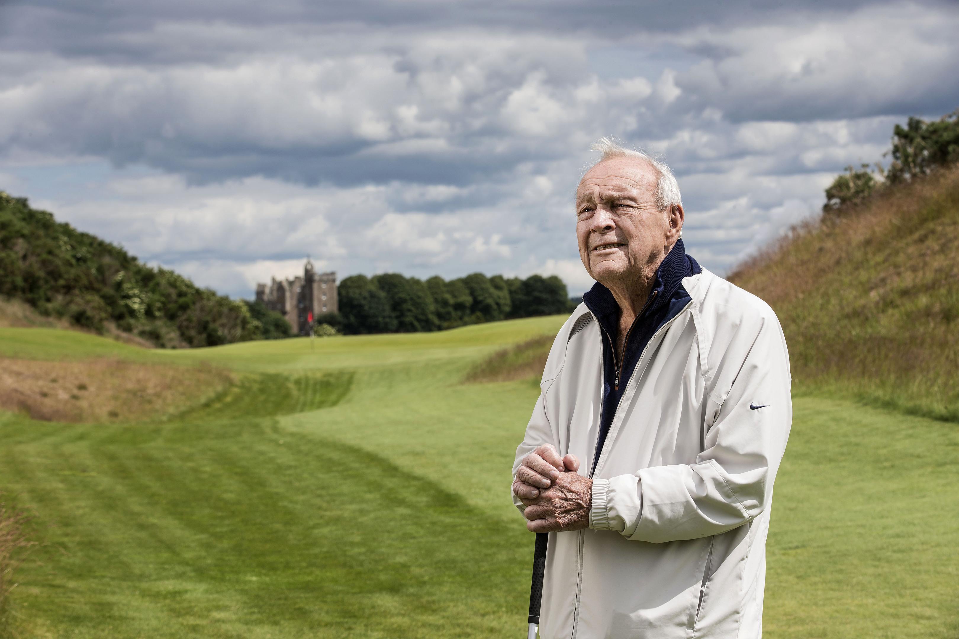 Arnold Palmer at Castle Stuart Golf Links