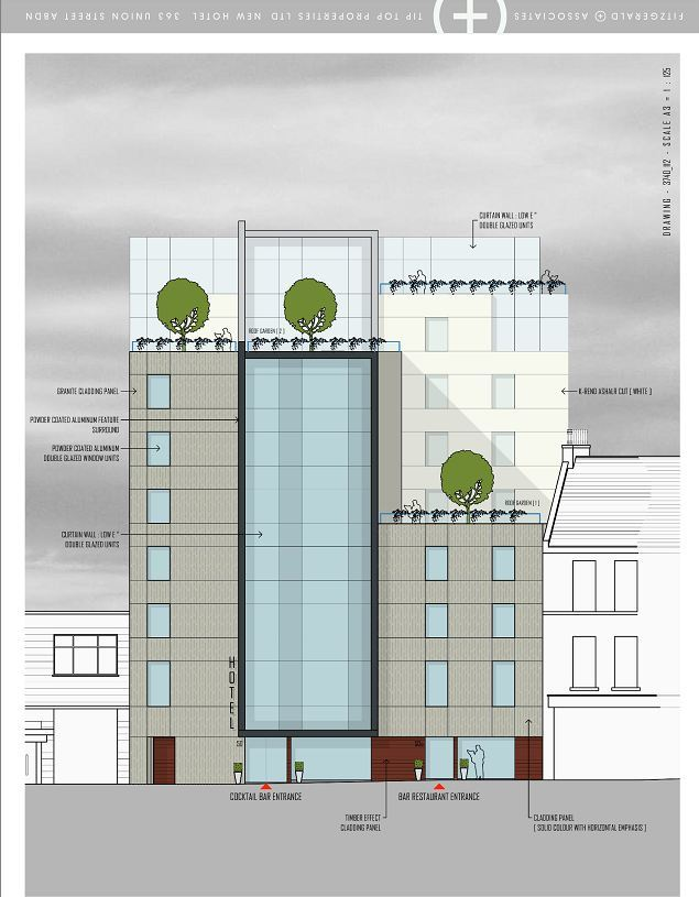 An artist 's impression of the new development