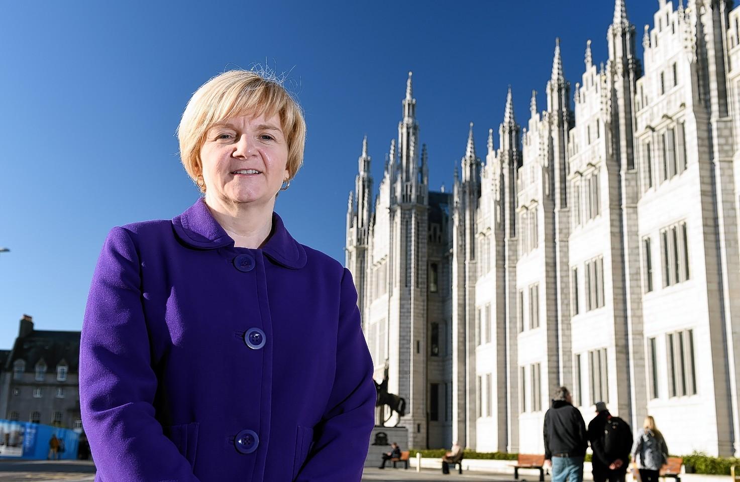 Aberdeen City Council Leader Jenny Laing.