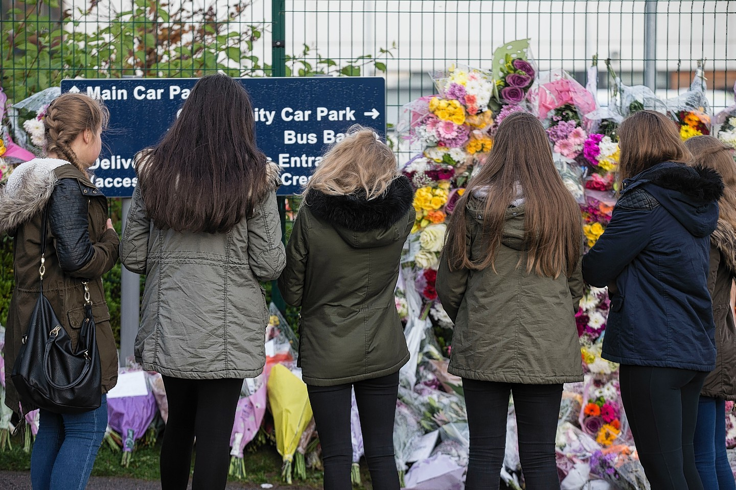Hundreds of tributes have been left online and outside Cults Academy