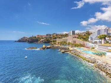 Funchal, Madeira coastline