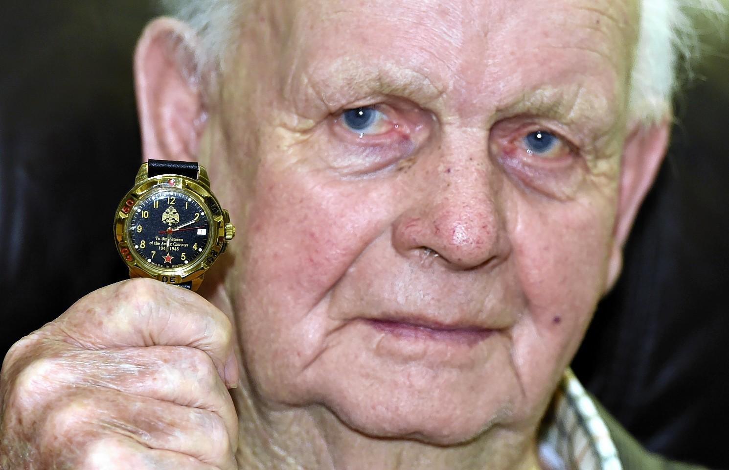 Jack Sleigh, Arctic Convoys veteran