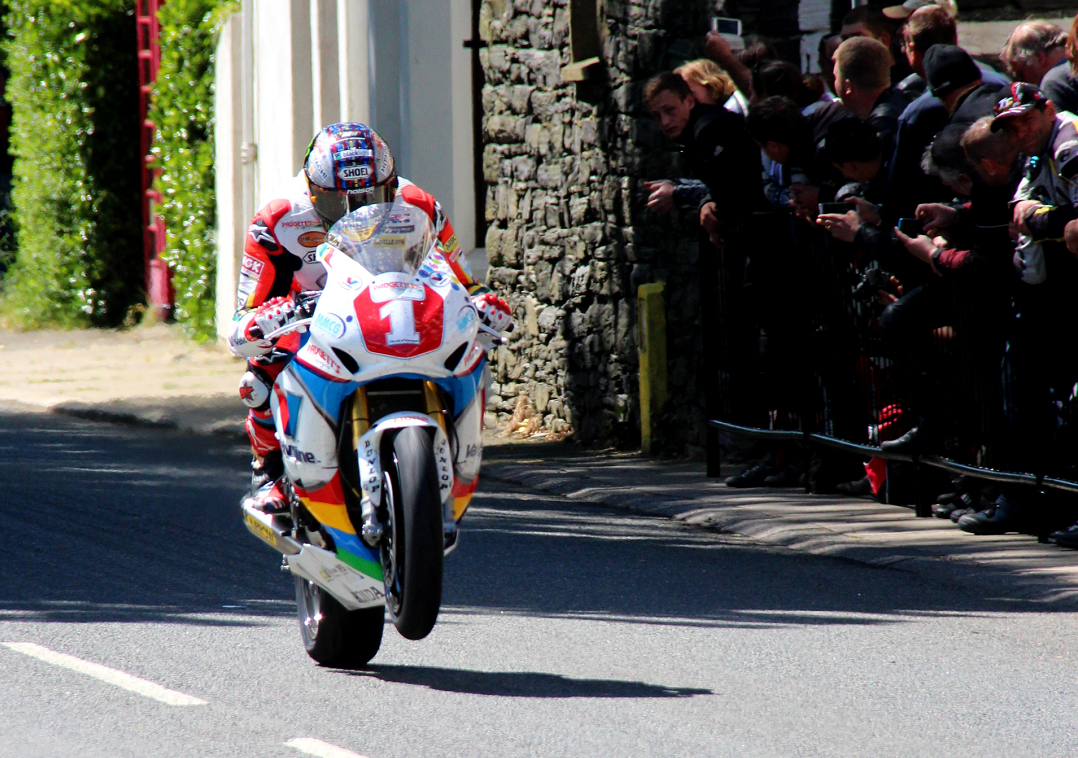 Biking champion John McGuinness will be giving a talk at the event, and meeting fans
