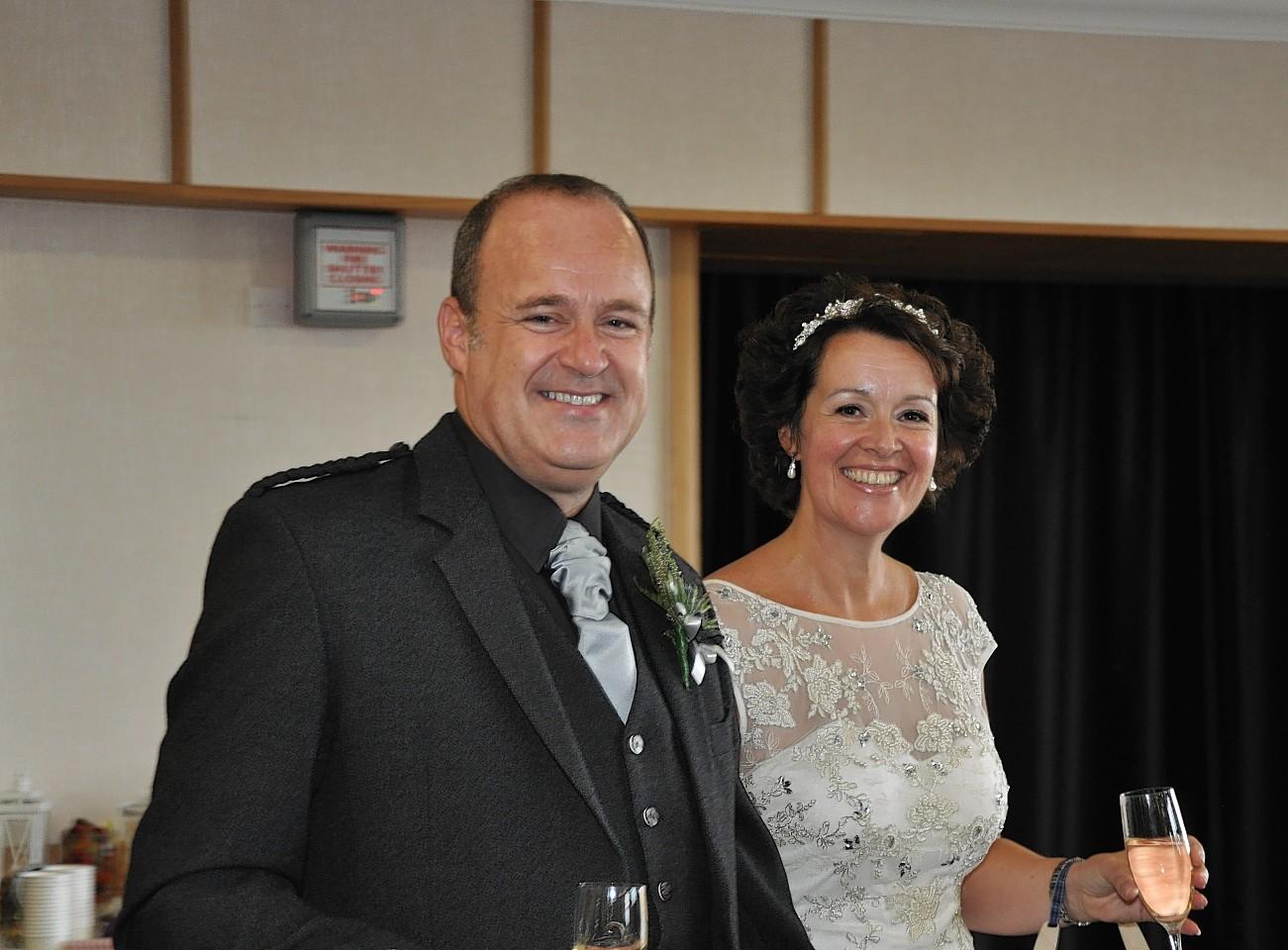 Karen Fulton with her husband Kevin