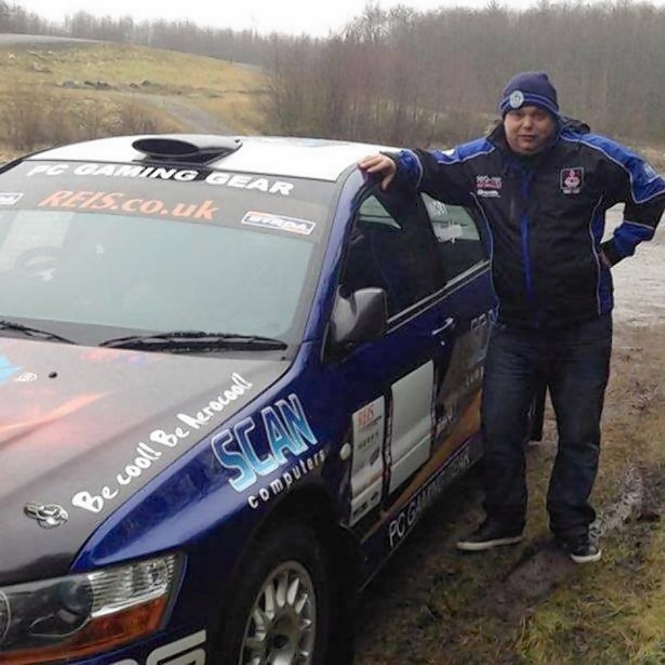 Andrew Mort died whilst racing in the Mull Rally