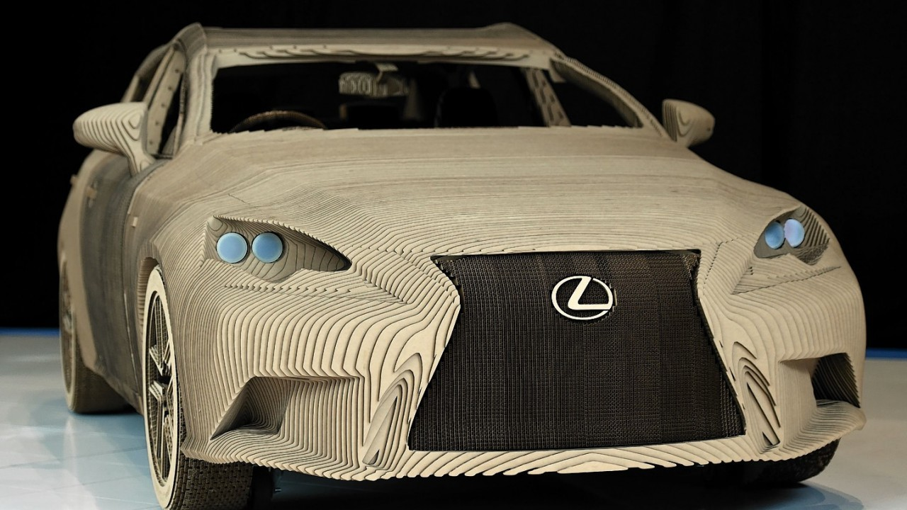 World's first origami car is unveiled