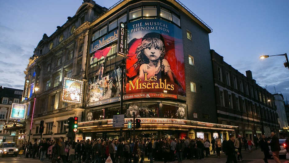 The Les Miserables 30th Anniversary Gala Performance at Queen's Theatre was in aid of Save The Children
