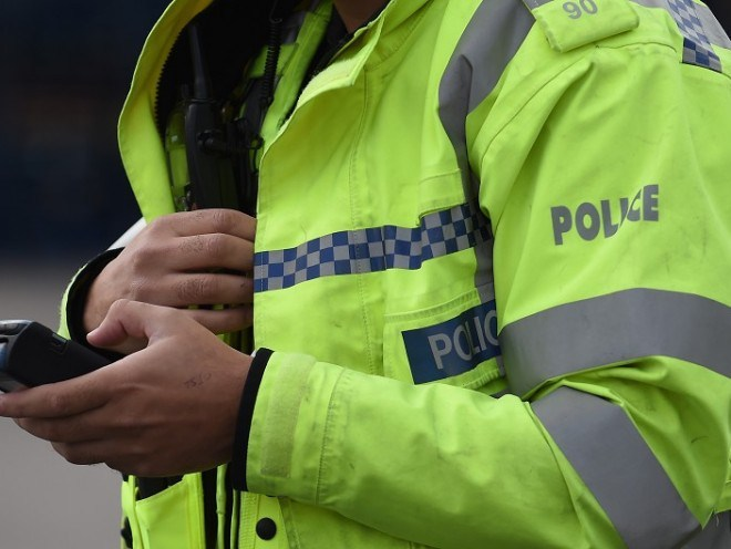 A group of youngsters were approached by a man and woman in Oldmeldrum