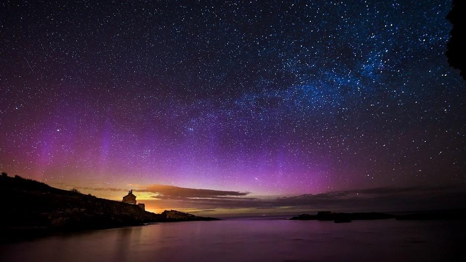 The aurora borealis, or Northern Lights