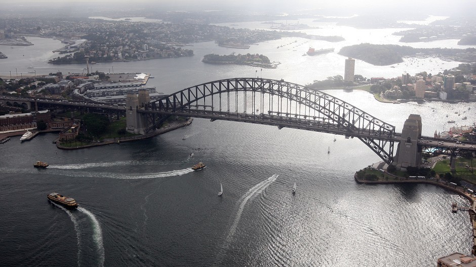 Dorman Long built Sydney Harbour Bridge with the help of Aberdeen granite.