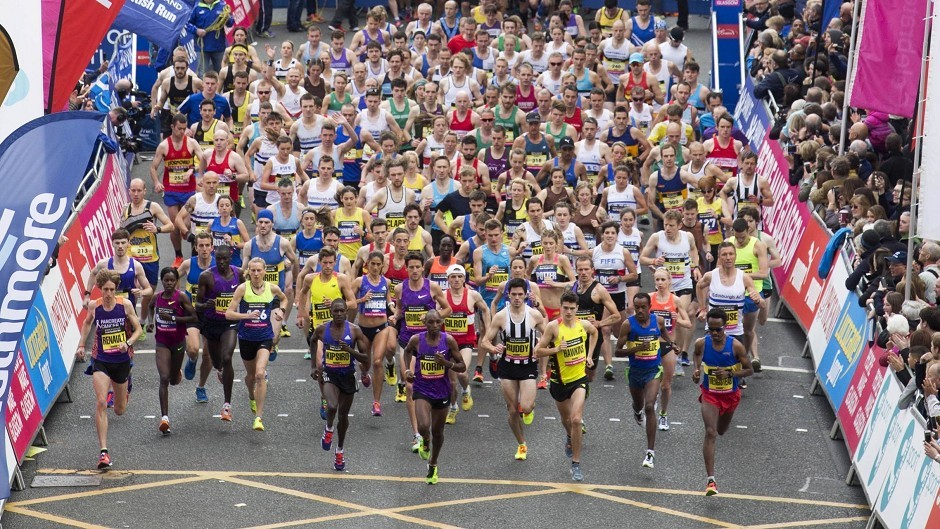 Thousands of runners have taken part in the Great Scottish Run in Glasgow.