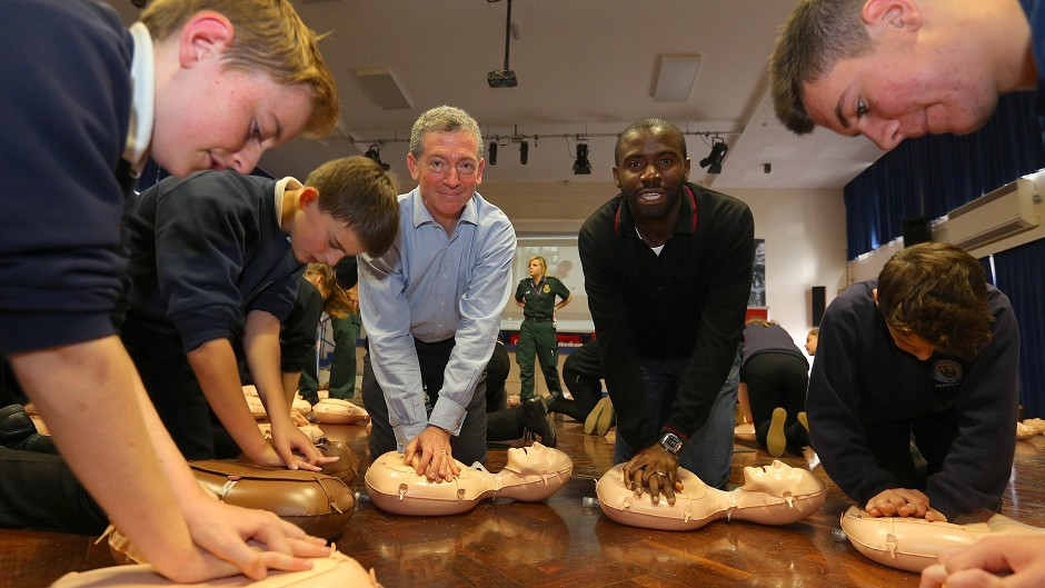 The British Heart Foundation wants more people to learn CPR skills