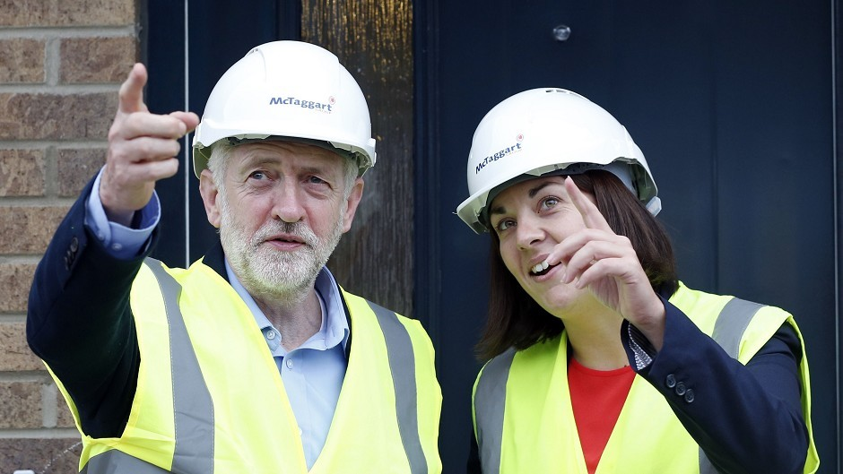 Jeremy Corbyn and Kezia Dugdale issued a joint statement