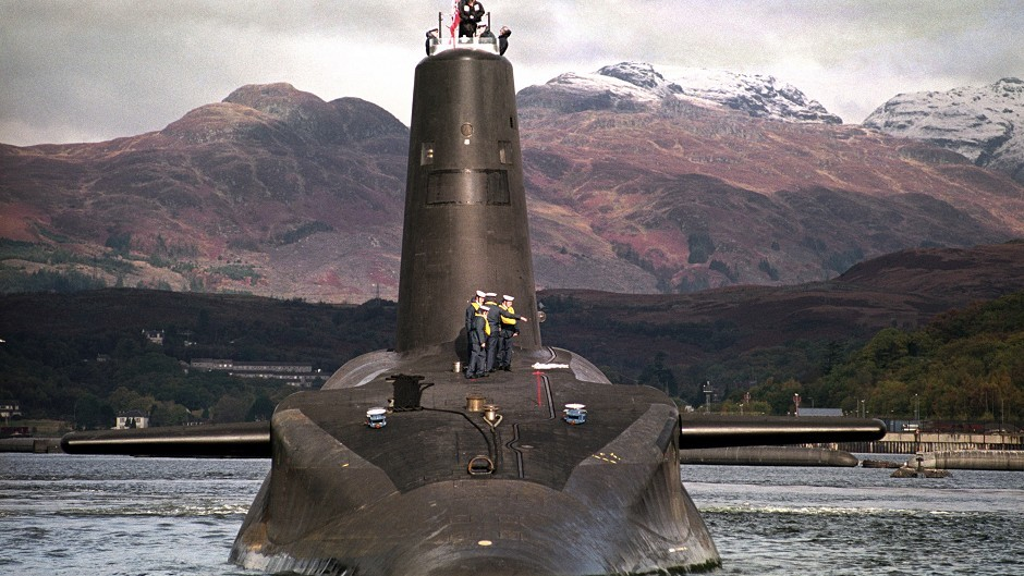 Trident took centre stage at the Scottish Labour conference