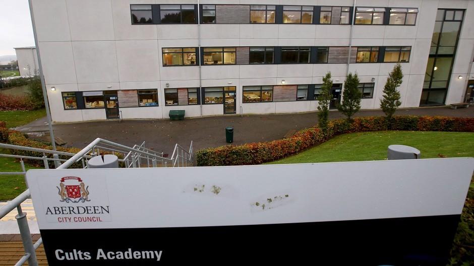 Cults Academy, west Aberdeen