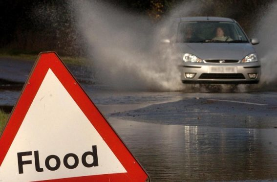 Flood warnings have been issued for the Highlands