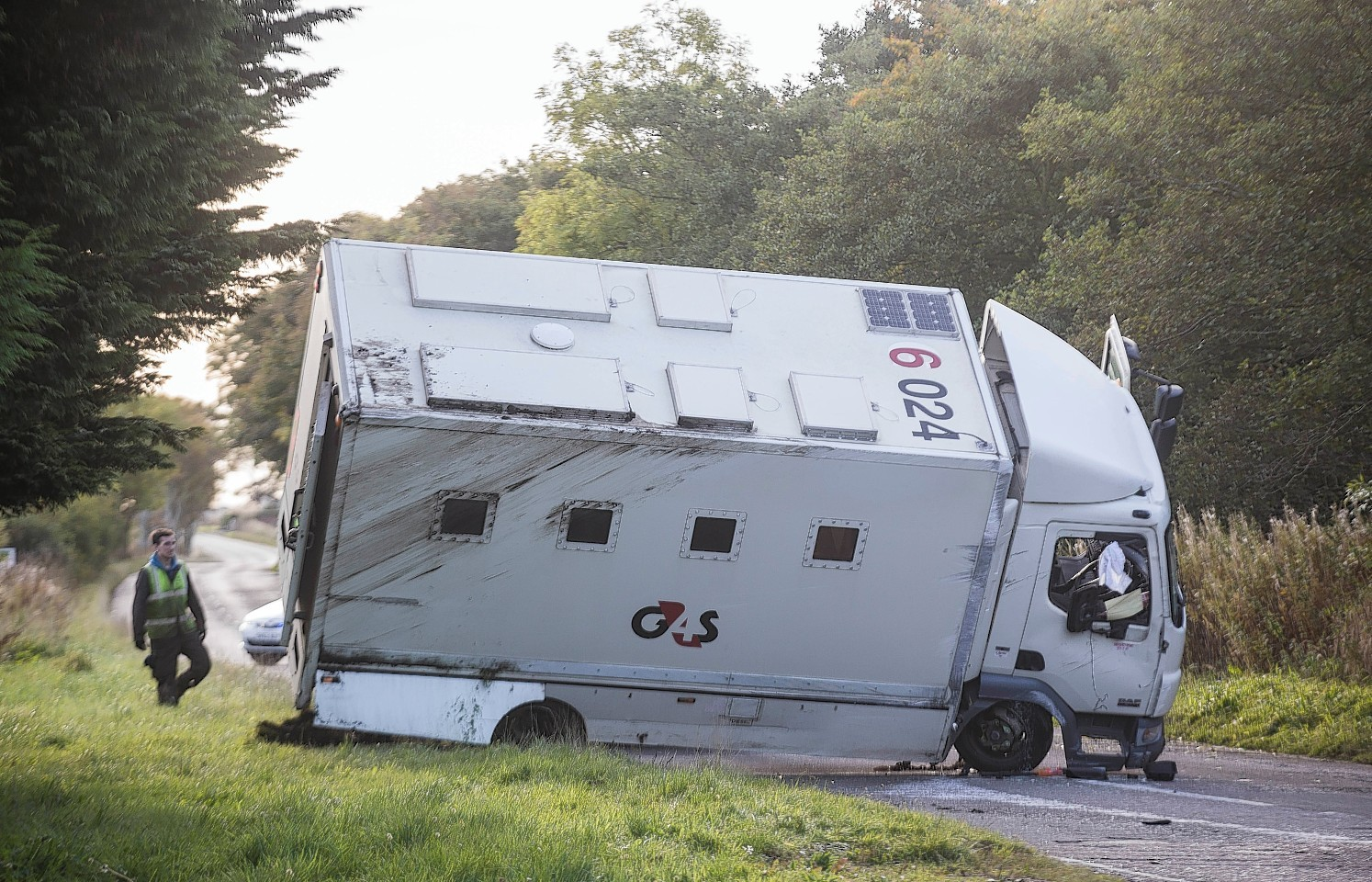 The G4S van crash