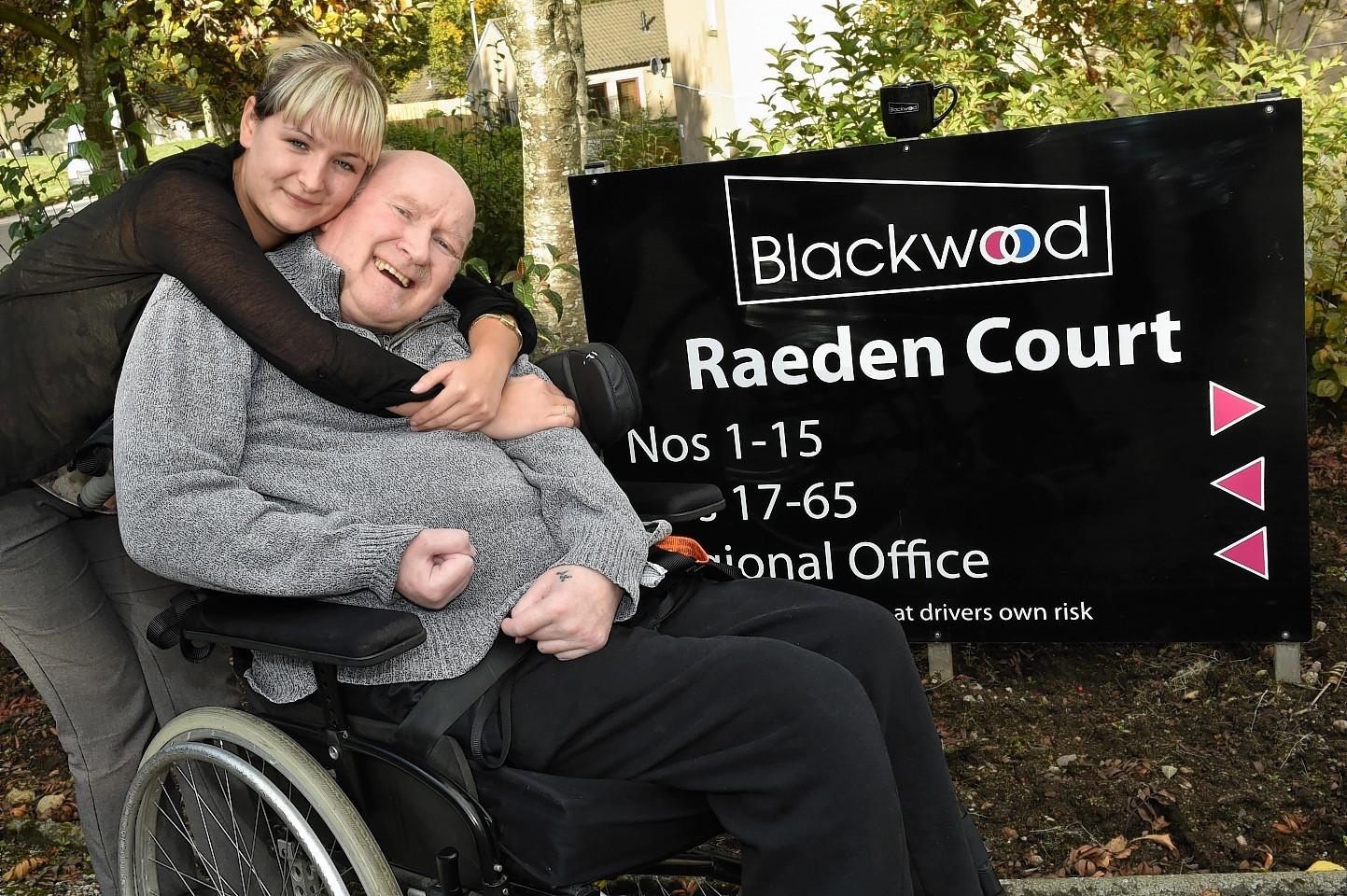 Blackwood Care Home in Raeder Court, Aberdeen