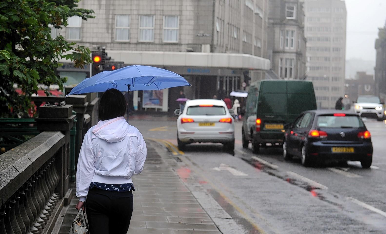 Rain on Union Street