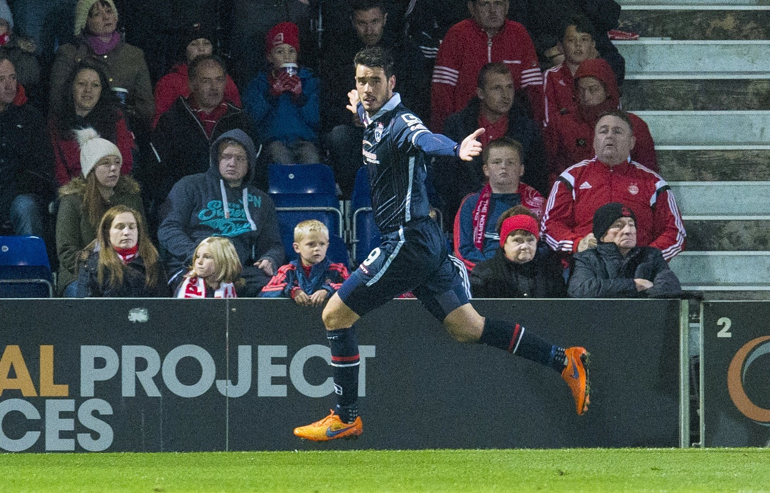 Brian Graham netted 17 goals in 36 appearances during his first spell with Ross County.