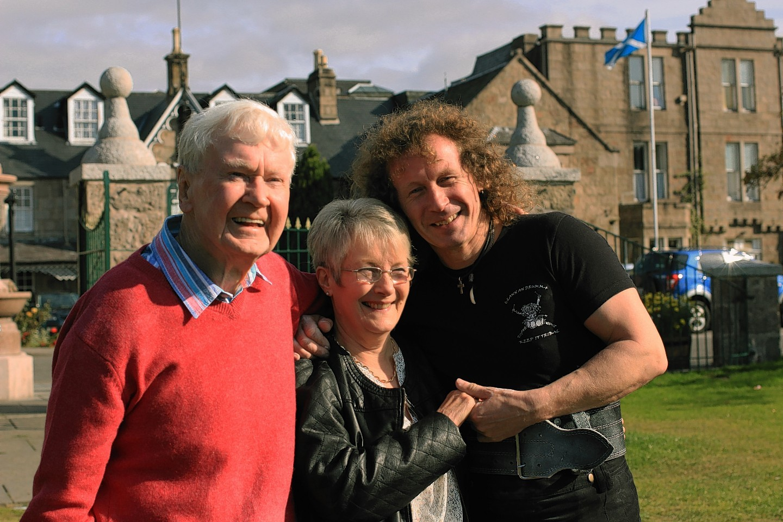 Jack, Joyce and Stevie Shanks