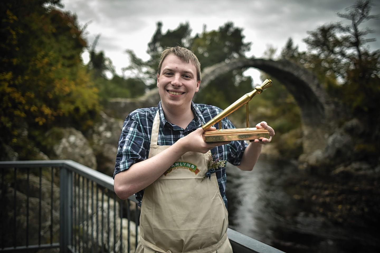 Last year's Golden Spurtle winner Simon Rookyard