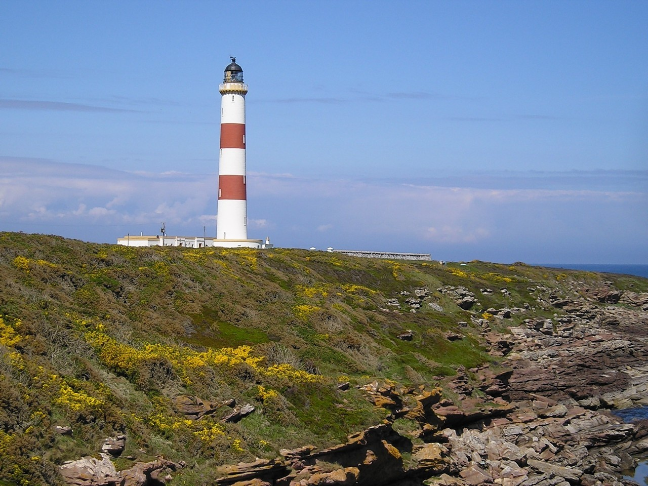 """""""Tarbat Ness Lighthouse, near Portmahomack"""" for possible inclusion in your Scottish Life section.  Taken by Andrea M. Borsden of Inverness"""