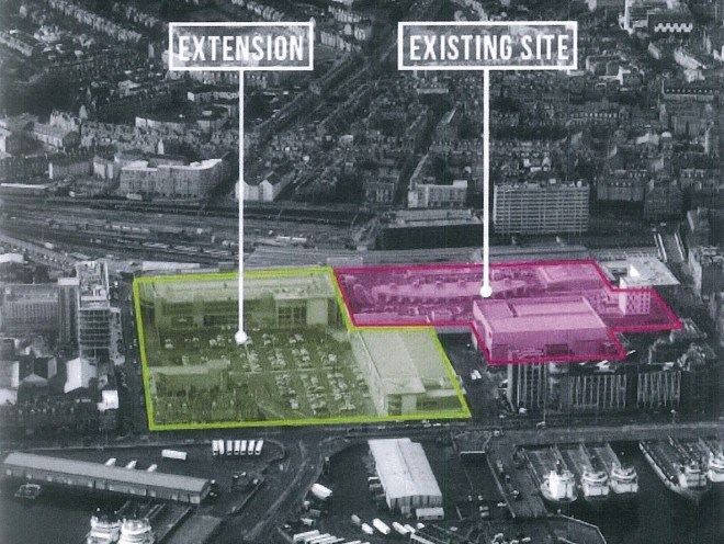 This is an artists impression of the proposed expansion