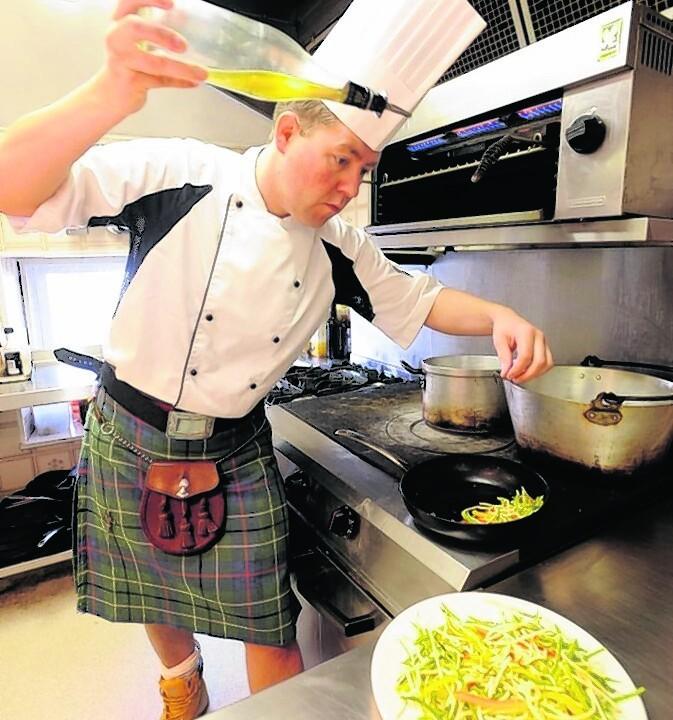 Craig Wilson, the Kilted Chef