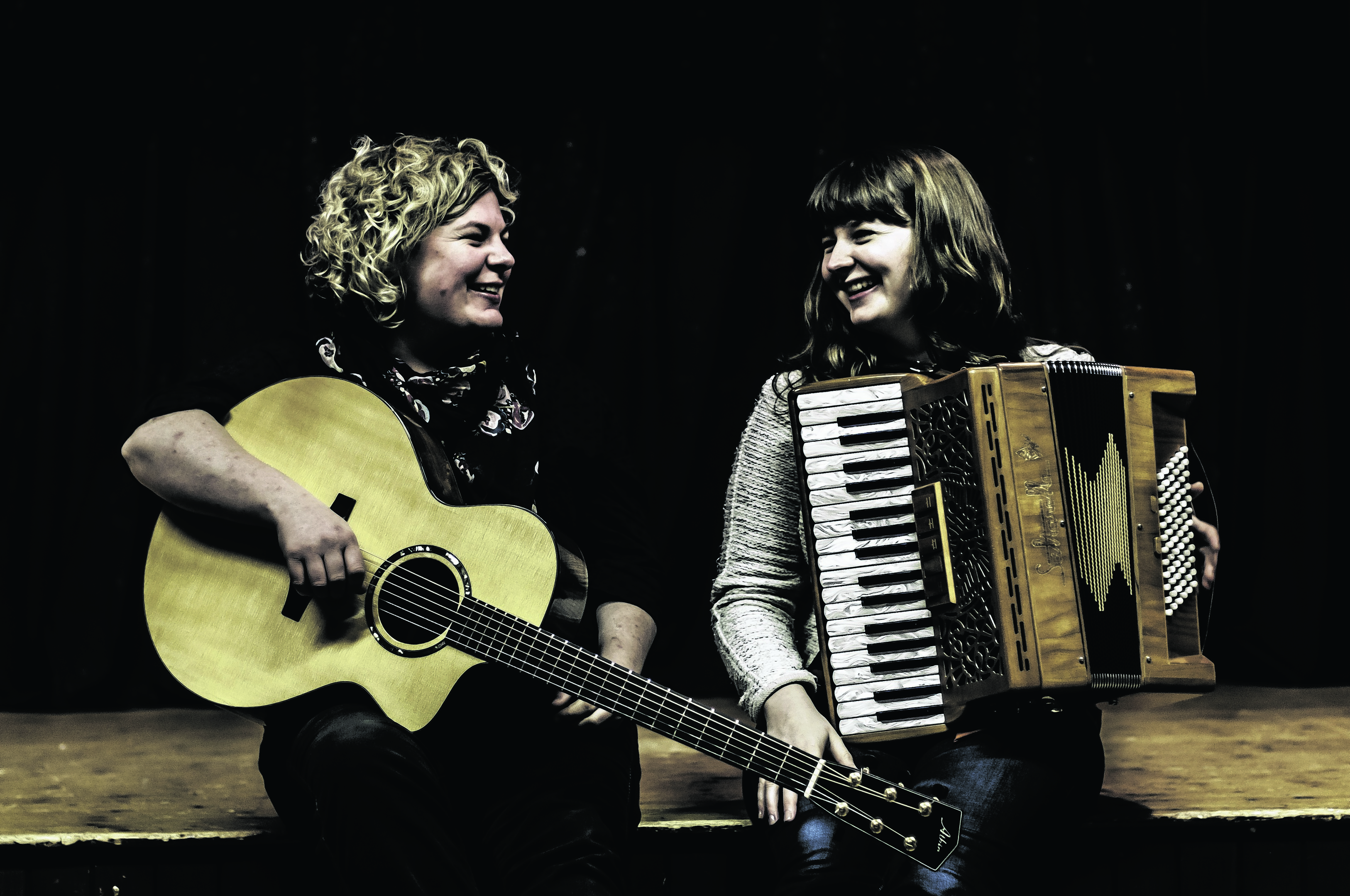 Mairearad and Anna