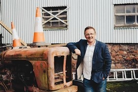 Musician-turned-entrepreneur Bruce MacGregor, who is planning to take on the Irish with a chain of Scottish pubs.