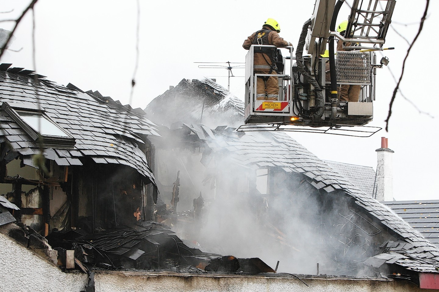 The Cill Chuimein medical centre in Fort Augustus was destroyed by fire