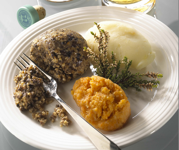 Traditional haggis is currently banned in the US