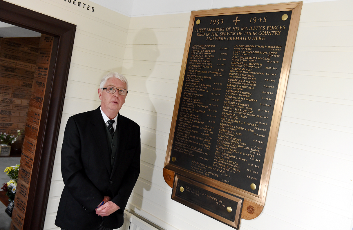Mr Duncan has asked the public to get in touch if they know any of the names on the memorial plaque