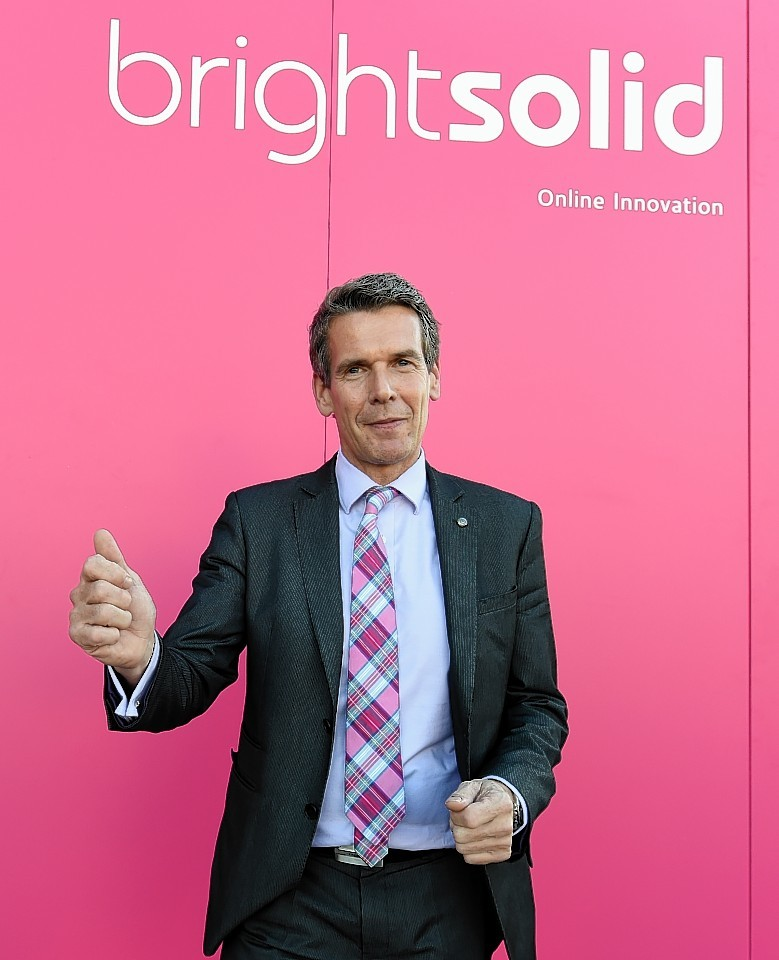 Richard Higgs, Brightsolid CEO