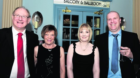 Les Fearn, Patricia Fearn, Pauline Angus and Neil Angus