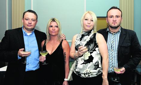 Rafal Witkowski, Ula Witkowski, Witold Nosal and Malgorzata Nosal