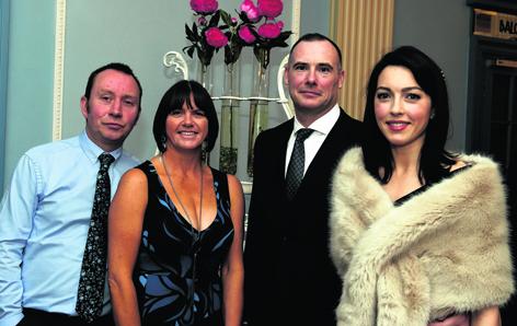Craig Thomson, Elaine Lawrence, Gavin Currie and Katy Currie