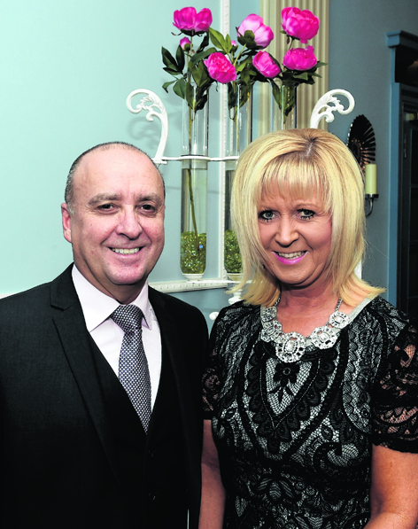 Scott Allardyce and Sandra Allardyce