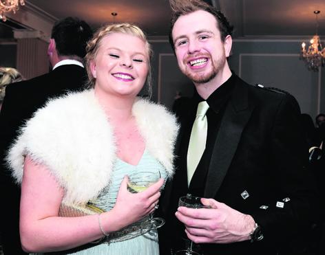 Sophie Stewart and David Wood