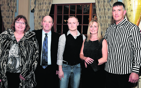 Anne Stewart, Gerard Stewart, Eric Studzinski, Louise McFarlane and Scott McFarlane