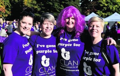 Leanne Bruce, Donna Kelly, Karen Davidson and Jane Duncan